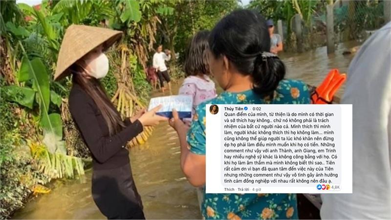 Thủy Tiên phản ứng gay gắt khi cư dân mạng nhắc tới Trấn Thành, Ngọc Trinh: Những comment như vậy gây ảnh hưởng tình cảm đồng nghiệp