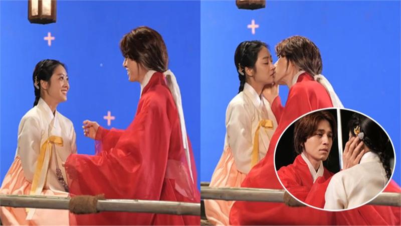 'Bạn trai tôi là hồ ly': Xúc động cảnh Lee Dong Wook hôn Jo Bo Ah trên trường quay giữa thời tiết lạnh giá