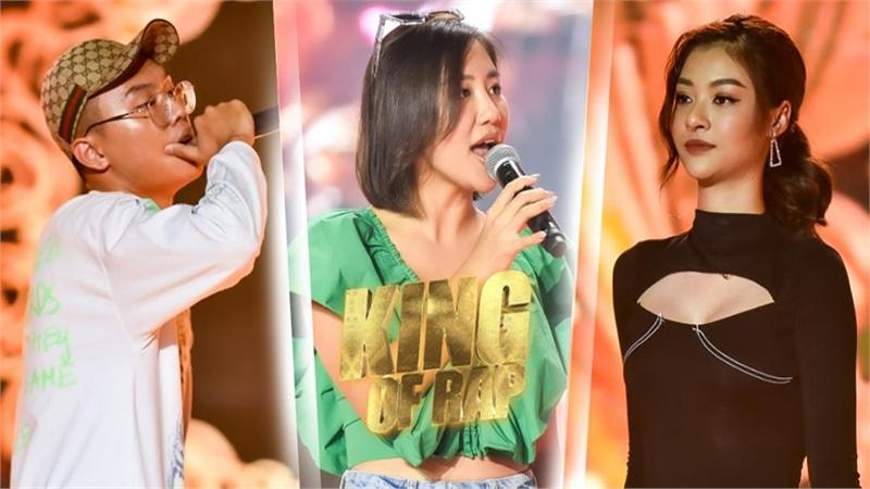VY Jacko 'đứng hình 5s' vì đấu loại với Kiều Loan, Văn Mai Hương 'tung chiêu' giúp sàn đấu 'King Of Rap' thêm rực lửa