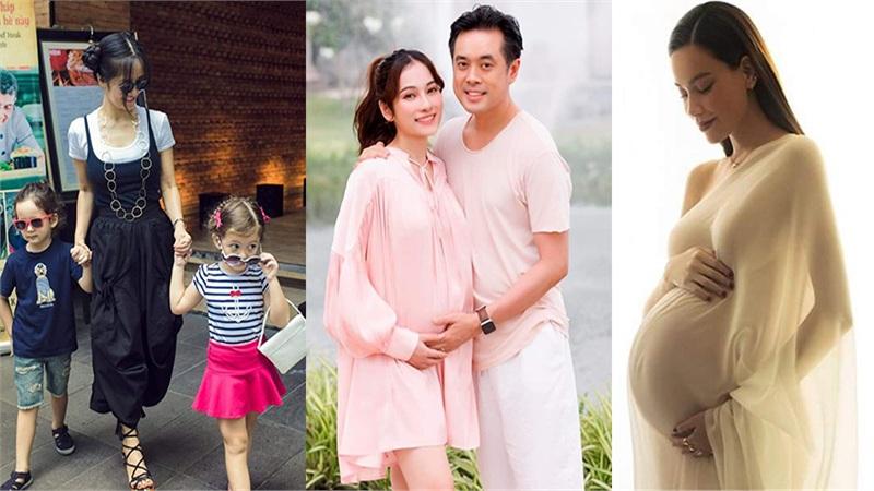 Không chỉ Hà Hồ, những sao này cũng được phước sinh đôi khiến nhiều người ngưỡng mộ