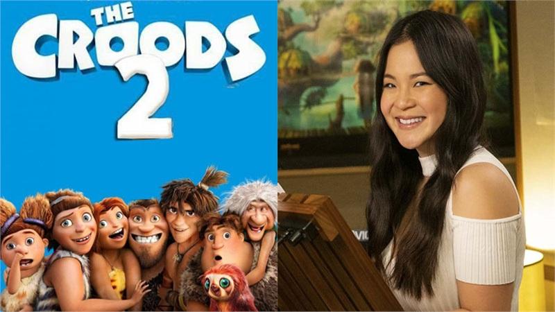 Nữ diễn viên gốc Việt - Kelly Marie Tran cùng dàn sao hạng A lồng tiếng cho phần phim 'Gia đình Croods: Kỷ nguyên mới'