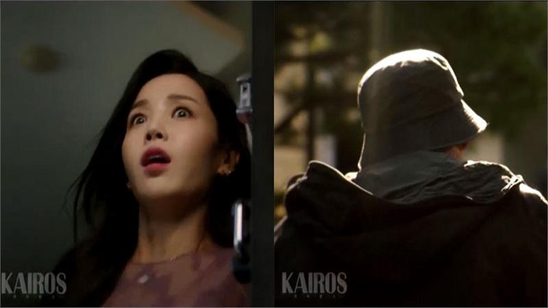 'Kairos' trailer tập 13-14: Nam Gyu Ri hoảng sợ khi người đàn ông bị thiêu sống trong quá khứ đột ngột xuất hiện