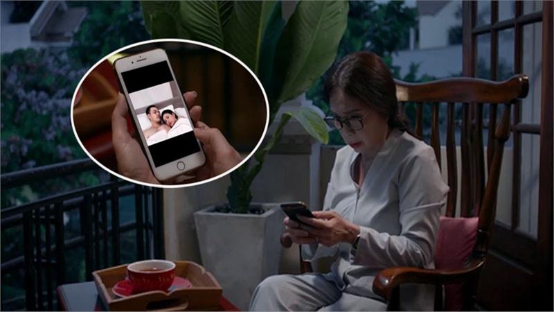 'Trói buộc yêu thương' - Tập 27: Phương gửi 'ảnh giường chiếu' cho bà Lan