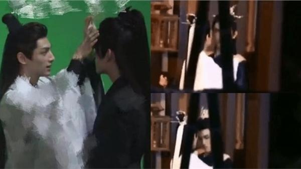 Dân mạng phát sốt với hình ảnh thân mật của La Vân Hi - Trần Phi Vũ trong hậu trường 'Hạo y hành'