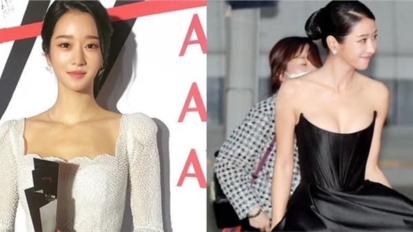 Sau màn hở bạo suýt tụt cả váy, Seo Ye Ji bất ngờ đổi style kín đáo nhưng lạ nhất là vòng 1 khủng lại lặn đâu mất