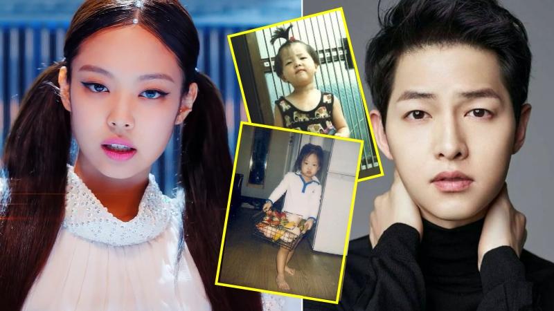 Nhân ngày thiếu nhi Hàn Quốc, các fan lấy ảnh thơ ấu của IU, Jennie, Song Joong Ki và nhiều Idol ra khoe