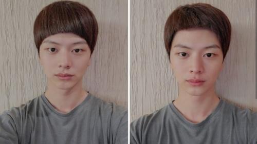 Trước 1 ngày nhập ngũ, Yook Sung Jae tự cắt tóc cực 'lầy lội'