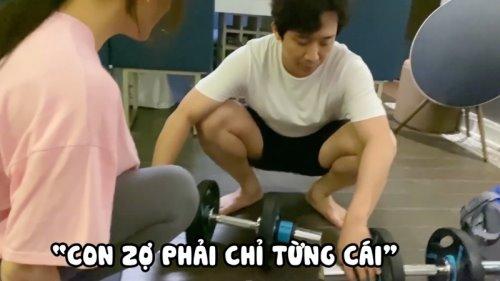 Trấn Thành làm gì mà khiến Hari Won vừa khen luôn miệng mà sau đó phải mắng 'không kịp vuốt mặt'