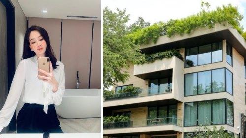 'Đột nhập' biệt thự sang trọng của Hoa hậu Đặng Thu Thảo và ông xã đại gia giữa lòng Sài Gòn