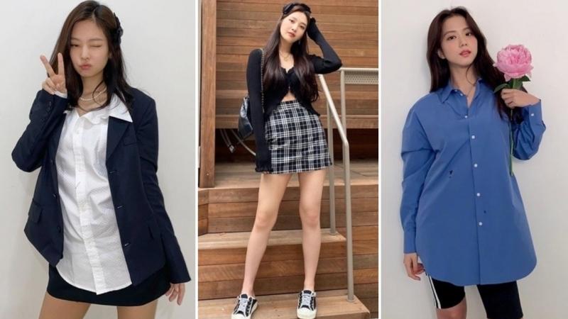 Sao Hàn mặc đẹp tuần qua: Joy lấy lại phong độ mặc đẹp, Jennie - Jisoo như 2 thái cực trái ngược