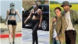 Điểm style sao US, UK tuần qua: Lady Gaga mặc 'kiệm vải' để lộ bụng mỡ, David Beckham bị vợ chê