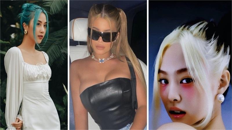 Kylie Jenner, Jennie, Quỳnh Anh Shyn rủ nhau lăng xê kiểu tóc mái 'râu rồng', netizen Việt hoài niệm về tóc mái huyền thoại của Đan Trường