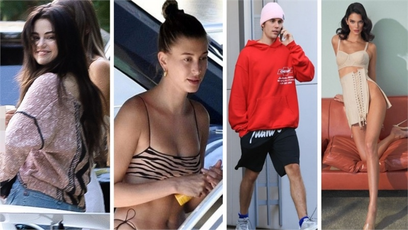 Điểm style sao US, UK tuần qua: Selena Gomez xinh đẹp xuất hiện sau khi bị tình cũ chỉ đích danh trong scandal tình dục, Hailey Bieber 'bỏ rơi' Justin để đi chơi với người này