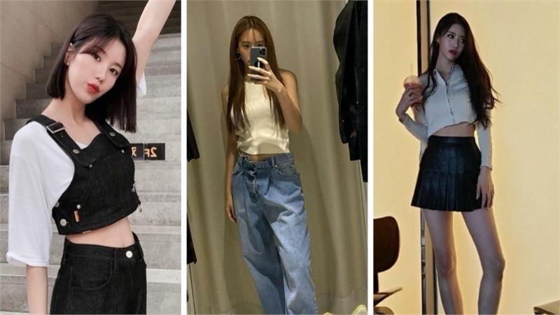 SaoHànmặcđẹptuần qua: Hyomin tranh suất 'mặc đẹp nhất' cùng mỹ nhân Lovelyz, hàng loạt cách phối đồ jeans từ các người đẹp