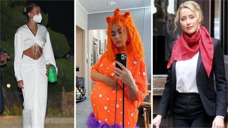Điểm style sao US, UK tuần qua: Hailey Bieber táo bạo khi vắng ông xã, Katy Perry bụng to vượt mặt vẫn 'lòe loẹt' hết sức