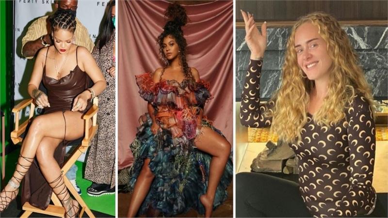 Điểmstylesao US, UK tuần qua: Rihanna tái xuất gợi cảm nghẹt thở, Adele khác lạ khi bắt chước Beyonce