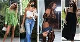 Điểmstylesao US, UK tuần qua: Angelina Jolie diện đầm lộ dáng gầy đáng lo, Kylie Jenner 'đốt mắt' với body bốc lửa