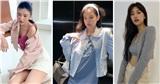 SaoHànmặcđẹptuần qua: Joy ngày càng ra dáng fashionista, Jennie bắt trend xanh quá đỉnh