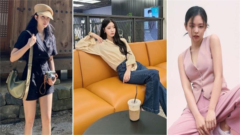 Sao Hàn mặc đẹp tuần qua: Mijoo (Lovelyz) bày cách mix đồ chuẩn đẹp với quần ống rộng, Hyomin giữ vững phong độ