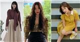 Sao Hàn mặc đẹp tuần qua: Soo Young khoe chiêu phối đồ cao tay, Kang Mina có cách mix&match đầm và giày sneaker siêu hay ho