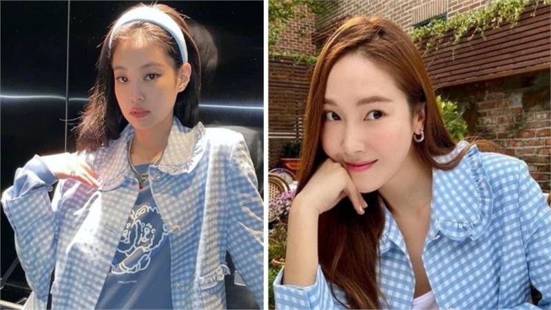 Chiếc áo được ưa chuộng từ thương hiệu thời trang của Jessica: Jennie mặc chất không thua gì 'chính chủ'