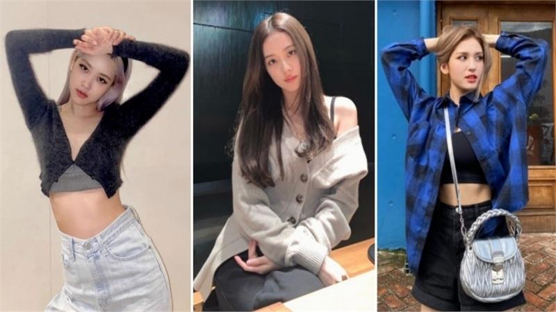 Sao Hàn mặc đẹp tuần qua: Rosé và Jisoo khiến fans 'mất máu', em út I.O.I lột xác quyến rũ