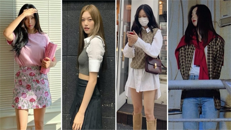 Sao Hàn mặc đẹp tuần qua: Loạt mỹ nhân cùng 'say đắm' áo gile và style layering, Seulgi chỉ thay đổi 1 chi tiết đã 'lột xác' thần thái
