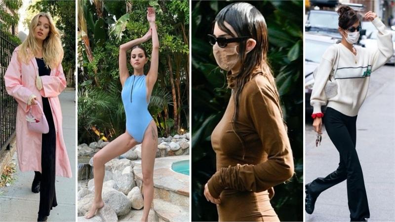 Điểm style sao US-UK tuần qua: Bella Hadid 'kín cổng cao tường', Kendall Jenner gây tranh cãi với mái tóc ướt nhẹp