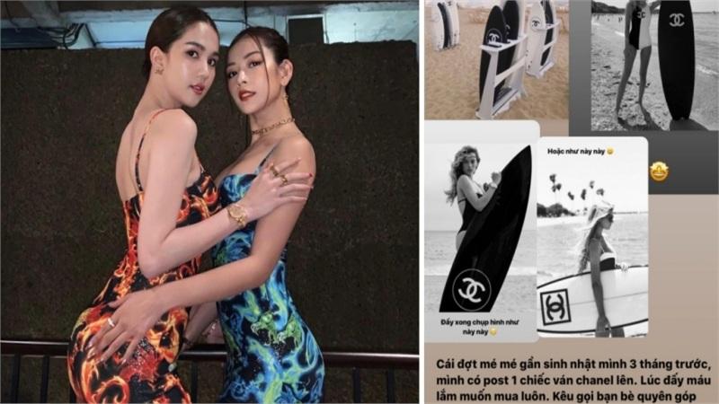 Chi Pu muốn mua ván Chanel 250 triệu, Ngọc Trinh 'inbox chốt đơn' chuyển ngay 100 triệu