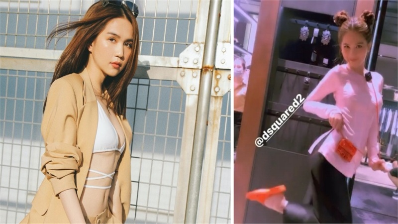 Tự tin nhờ fans chọn đồ dùm, Ngọc Trinh nhận 'kết đắng' khi 'biến hình' thành gái quê