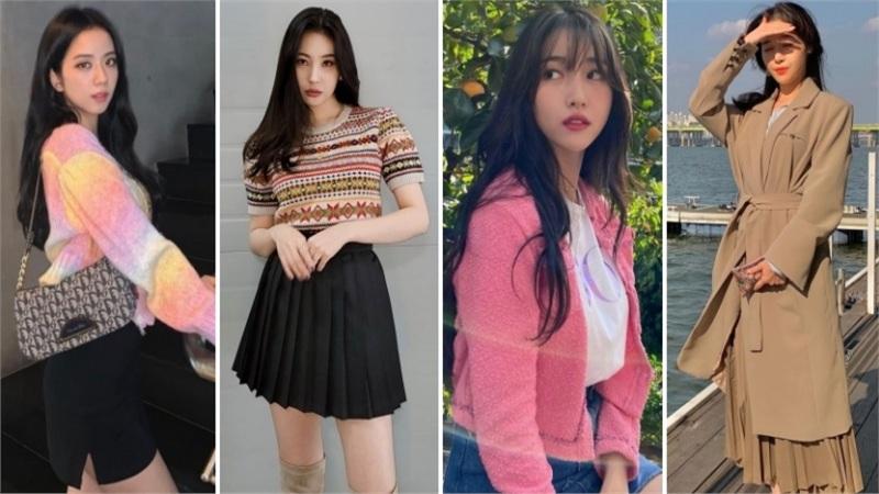 Sao Hàn mặc đẹp tuần qua: Áo len lên ngôi, quá nhiều tips phối đồ 'nhắm mắt cũng đẹp'