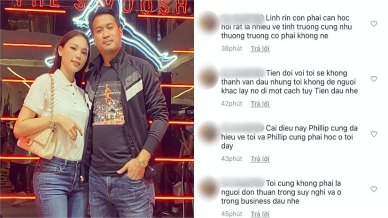 Người phụ nữ hơn 40 tuổi bất ngờ 'bóc phốt' Linh Rin ngăn cản mình đến với Phillip Nguyễn, người đẹp trả lời ra sao?