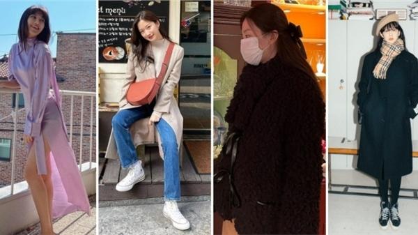 Sao Hàn mặc đẹp tuần qua: Lên đồ khi 'lười' vẫn đẹp với chiêu thức học từ Sooyoung, Seulgi, Hyomin chuẩn 'fashionista' với những set đồ layering điểm 10