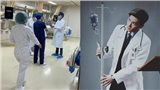 Dương Dương được khen ngợi khi đến bệnh viện thực tập để chuẩn bị trở thành bác sĩ chống Covid-19 trong phim mới