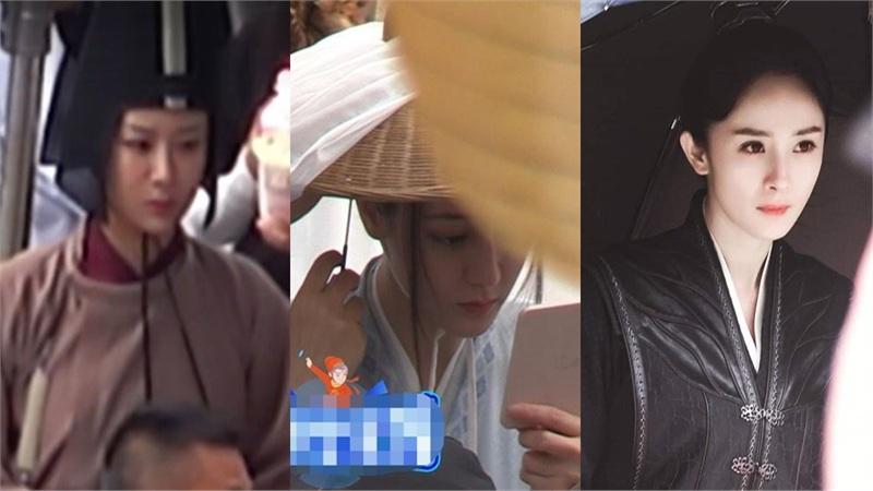 Loạt sao nữ Hoa ngữ bị lộ ảnh trên phim trường: Dương Mịch, Nhiệt Ba thần thái, Dương Tử bị chê tăng cân