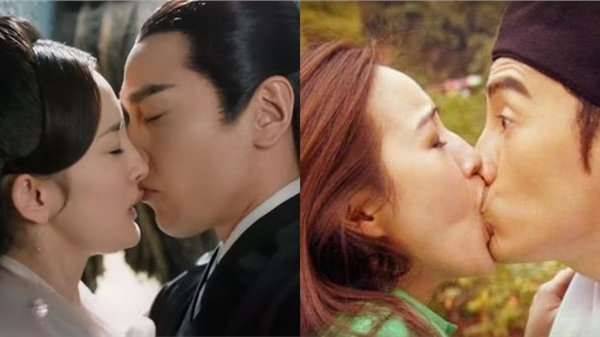 Những cảnh hôn trên phim Hoa ngữ quá thô bạo: Dương Mịch bị cắn môi, Trương Quân Ninh 'ngậm trọn' miệng bạn diễn