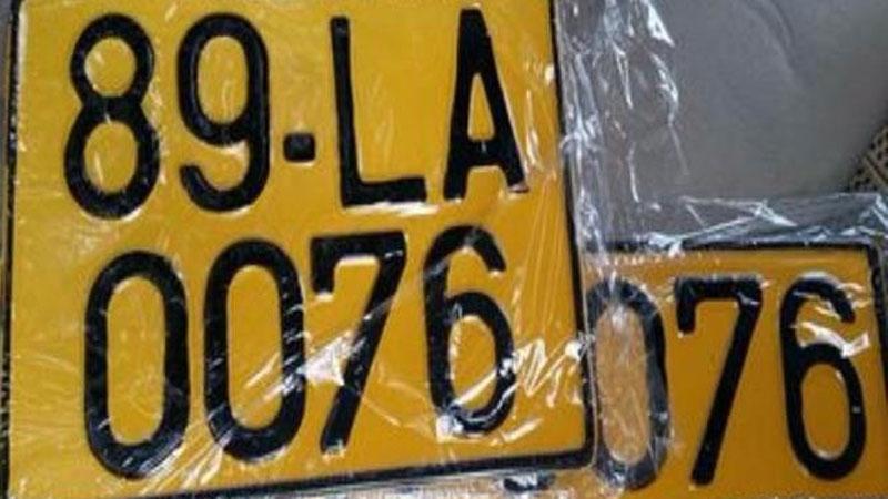 Từ 1/8 xe kinh doanh vận tải dùng biển số màu vàng