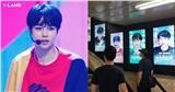 Fan chi tiền đặt biển quảng cáo kêu gọi vote cho Hanbin, lần đầu tiên thực tập sinh Việt được ưu ái đến vậy!