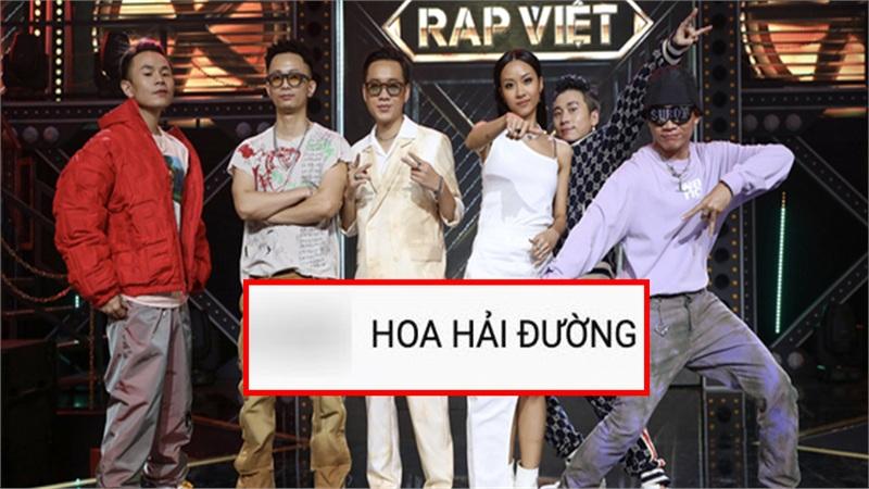 Fan Jack gây phẫn nộ khi tràn vào video công chiếu 'Rap Việt', liên tục spam tên ca khúc 'Hoa hải đường'