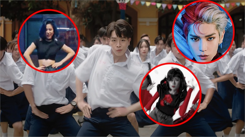 Ca khúc mới của Đức Phúc bị nghi đạo nhái: Vũ đạo giống Chi Pu, Red Velvet và ITZY, kiểu tóc y hệt Taeyong (NCT)