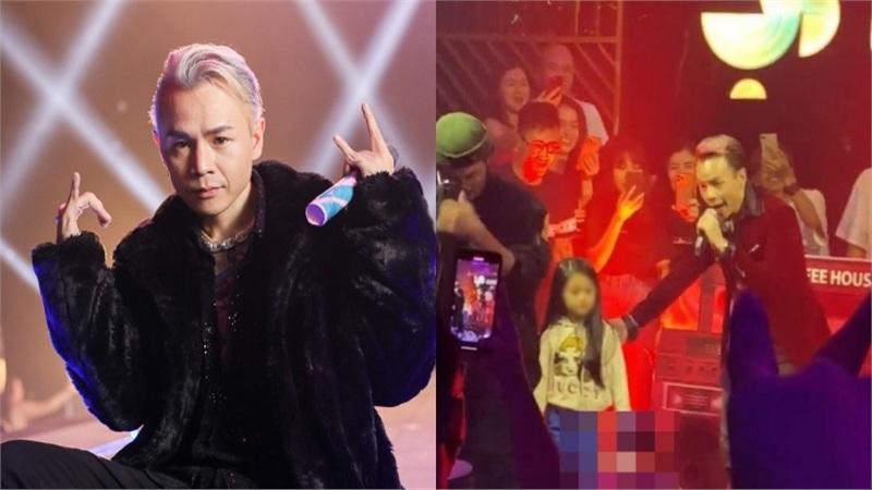 Binz bị chỉ trích vì diễn 'Bigcityboi' trước mặt em nhỏ trong quán bar, netizen phản bác 'có gì đó sai sai'