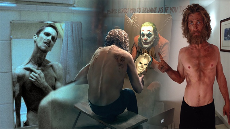 Sao Hollywood ép cân vì vai diễn: 'Joker' Joaquin Phoenix cần điều trị tâm lý vì giảm 23kg, nhưng vẫn chưa bằng 'Batman' Christian Bale