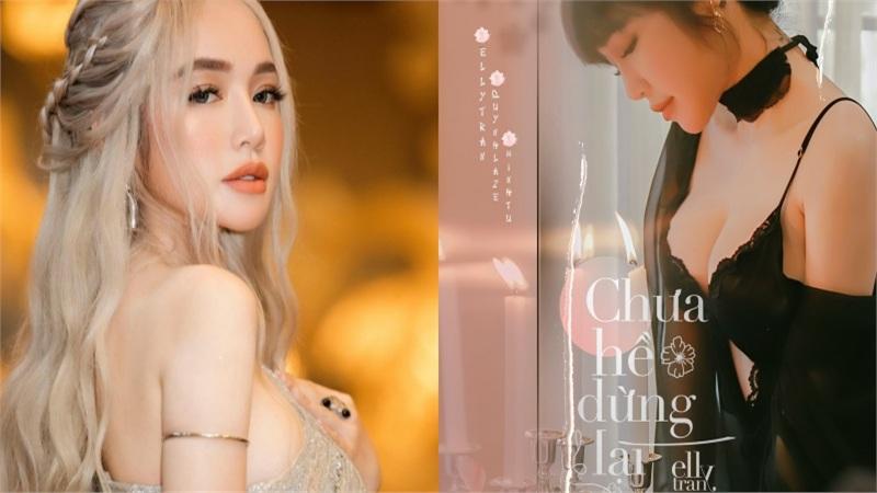 HOT: Elly Trần tuyên bố dấn thân ca hát, MV đầu tay lấy chủ đề người thứ 3
