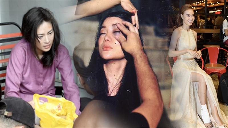 Sao Việt xả thân vì vai diễn: Lan Ngọc gãy xương, Ngô Thanh Vân đổ máu, Trúc Anh ngã từ xe đang chạy