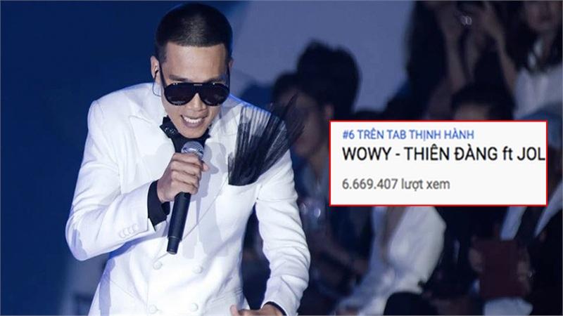 Wowy hứa 'tặng giày hiệu' cho fan nếu đạt #1 YouTube, giờ thứ hạng tăng vèo vèo lại khuyên nên bình tĩnh?