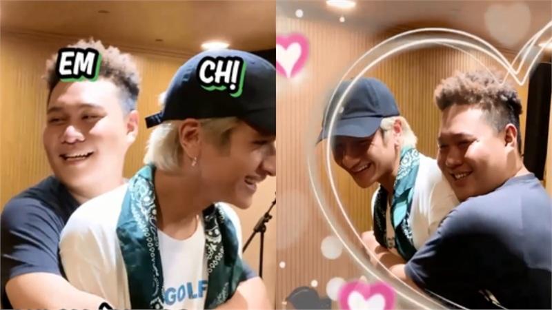 Rap Việt tung clip hậu trường, fan bất ngờ 'quỵ tim' vì 16 Typh và Yuno Bigboi ôm nhau quá tìnhtứ