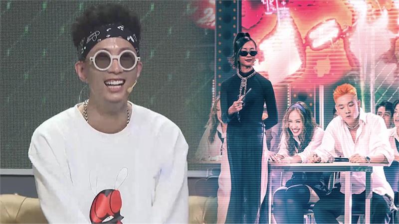 Rhymastic bất ngờ giả giọng lao công cực hài trong Rap Việt, khán giả thi nhau 'xúi' làm diễn viên