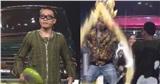 'Rap Việt'tiếp tục 'quăng thính' cực hài, Wowy định dùng chảo 'quánh' Suboi nhưng được Binz xả thân hộ giá