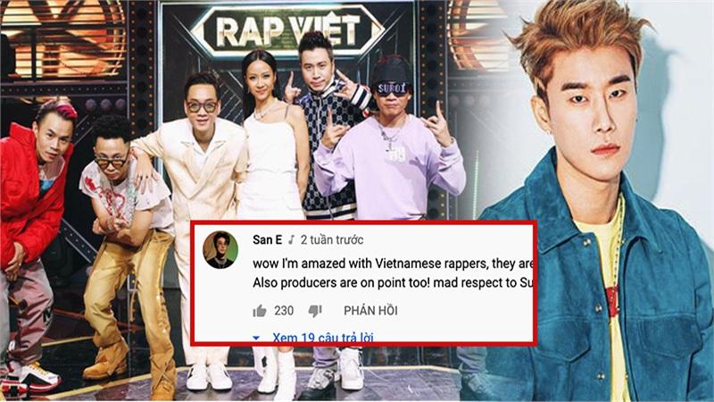 Producer nổi tiếng Hàn Quốc San E bất ngờ bình luận về Rap Việt, khẳng định tôn trọng dàn huấn luyện viên