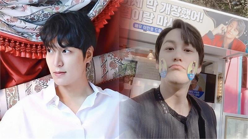 Lee Min Ho gửi quà đến phim trường 'Hồ ly', Kim Bum liền đăng ảnh khoe tình bạn 10 năm